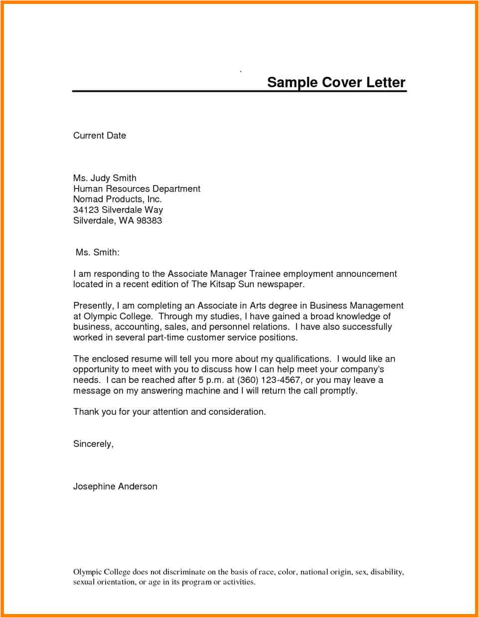 apprenticeship cover letter