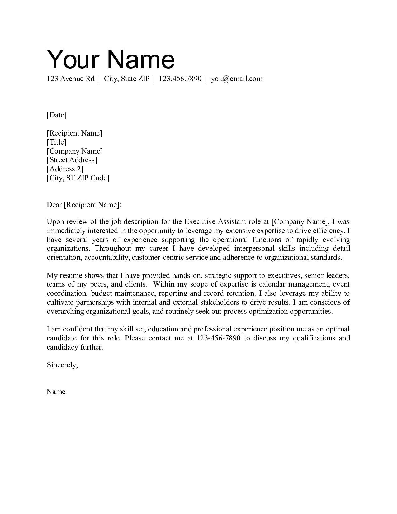 Cover Letter for Housing Officer Office assistant Cover Letter