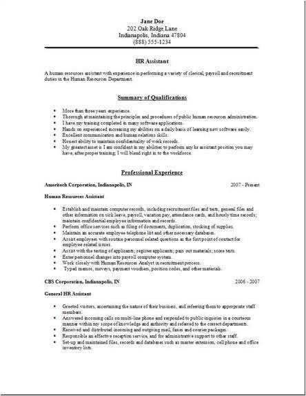 cover letter for hr fresher job