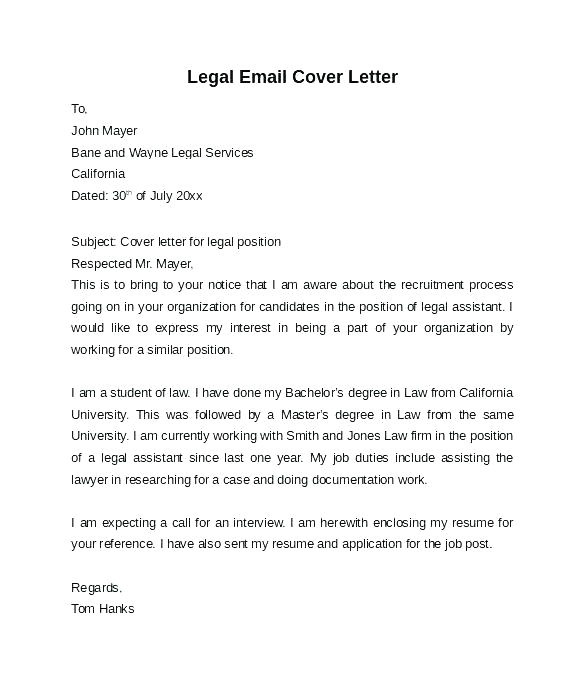 Cover Letter for In House Counsel Position Cover Letter for In House Counsel Position Free Template