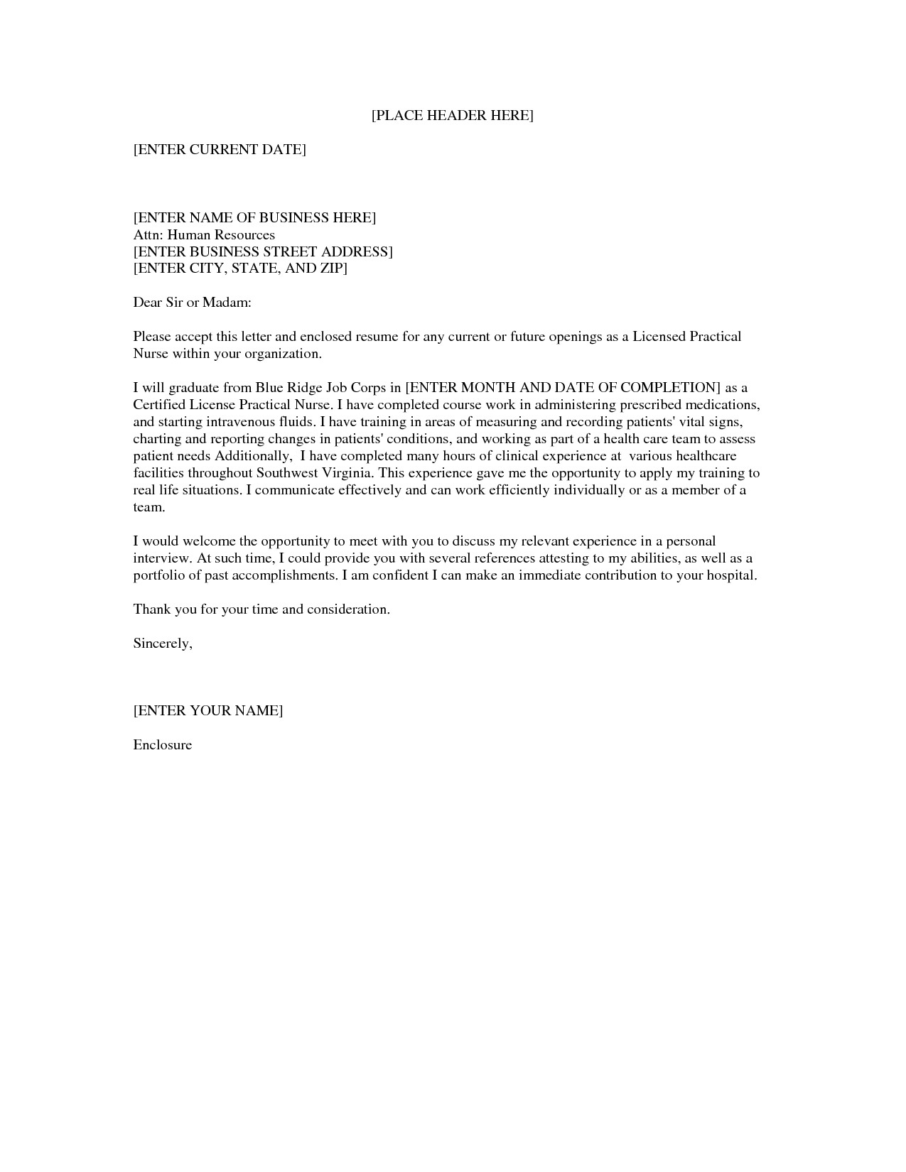 Cover Letter for Lpn with No Experience Lpn Nursing Cover Letter Sample Nursing School