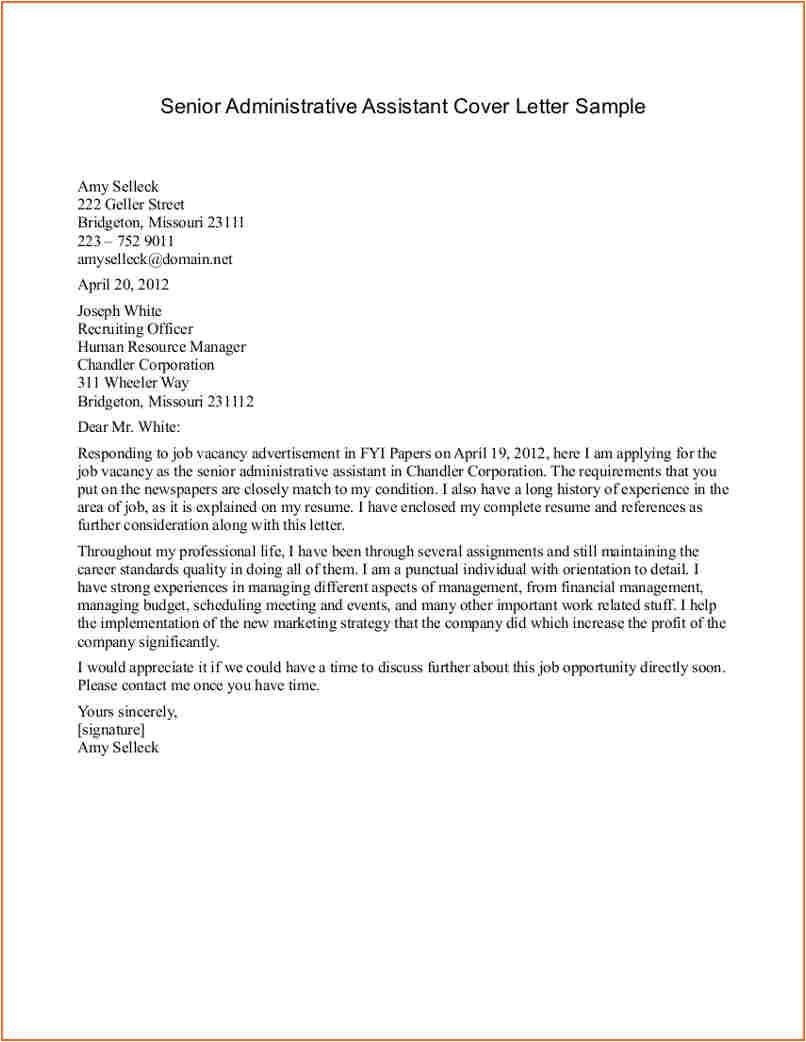 10 sample cover letter medical assistant
