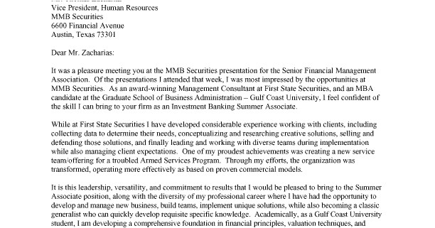 cover letter jp morgan