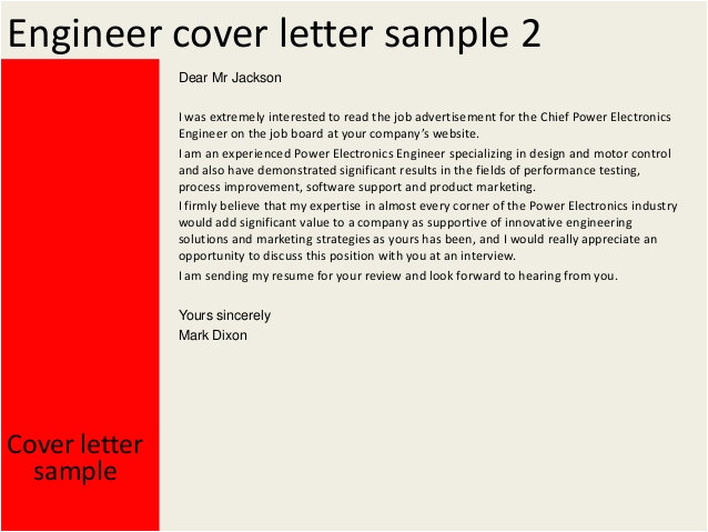 engineer cover letter 31530779