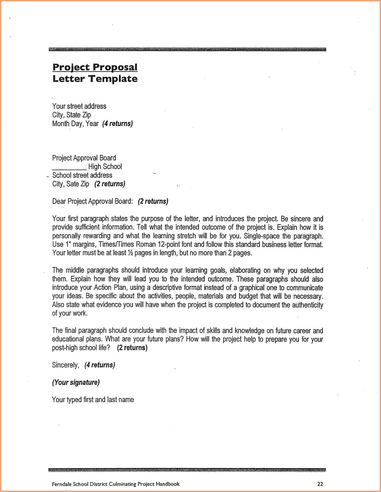 6 school construction project proposal