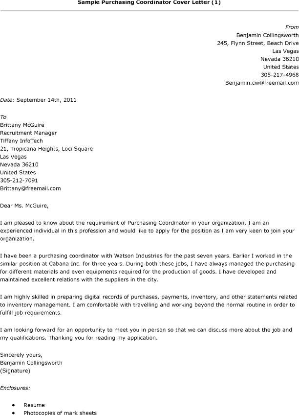 post professional examples of procurement letter 387733