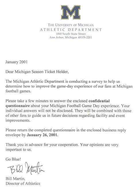 how to write cover letter umich