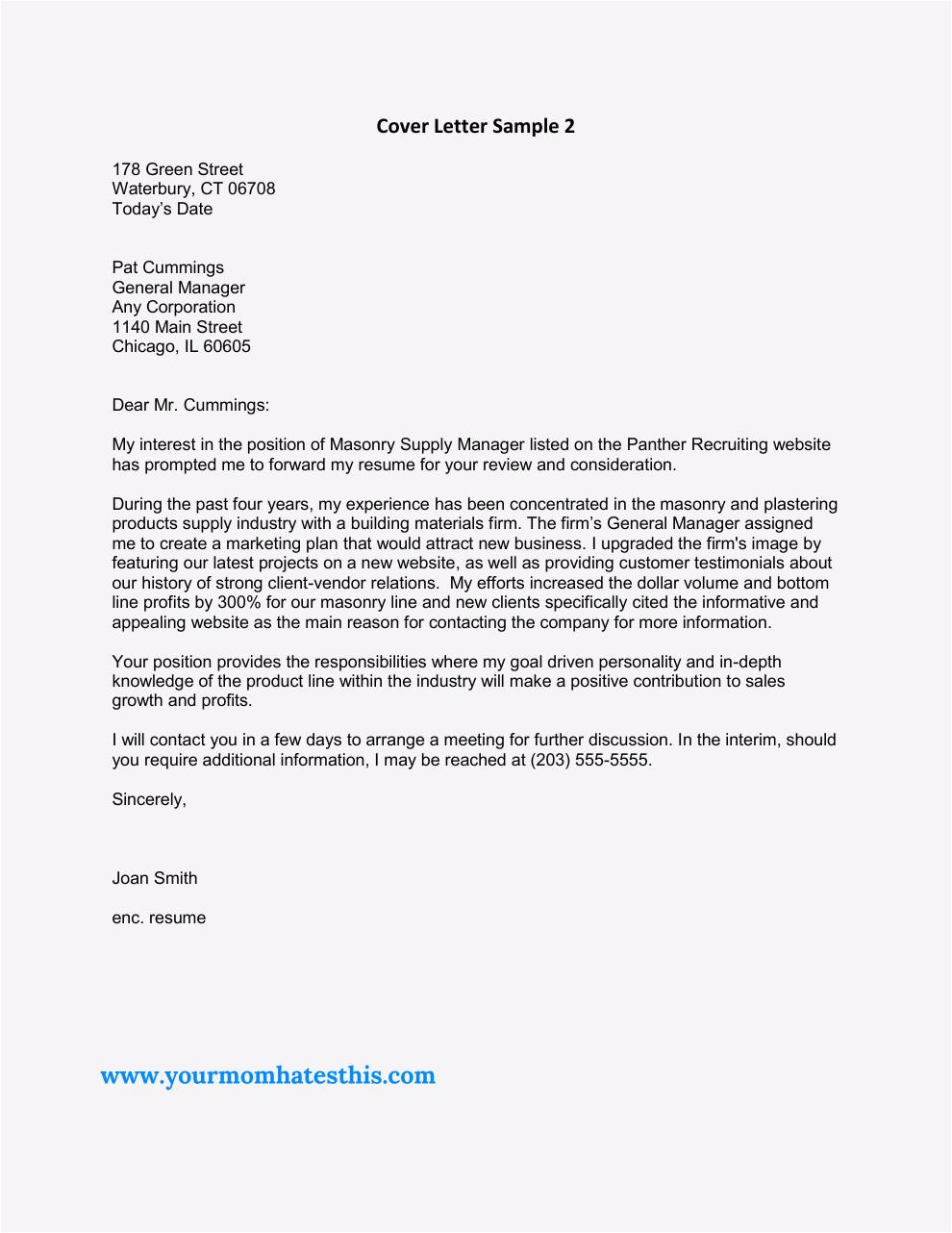 cover letter for resident advisor position