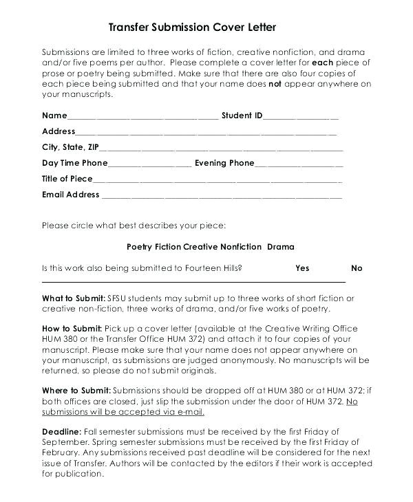 cover letter for revised manuscript sample