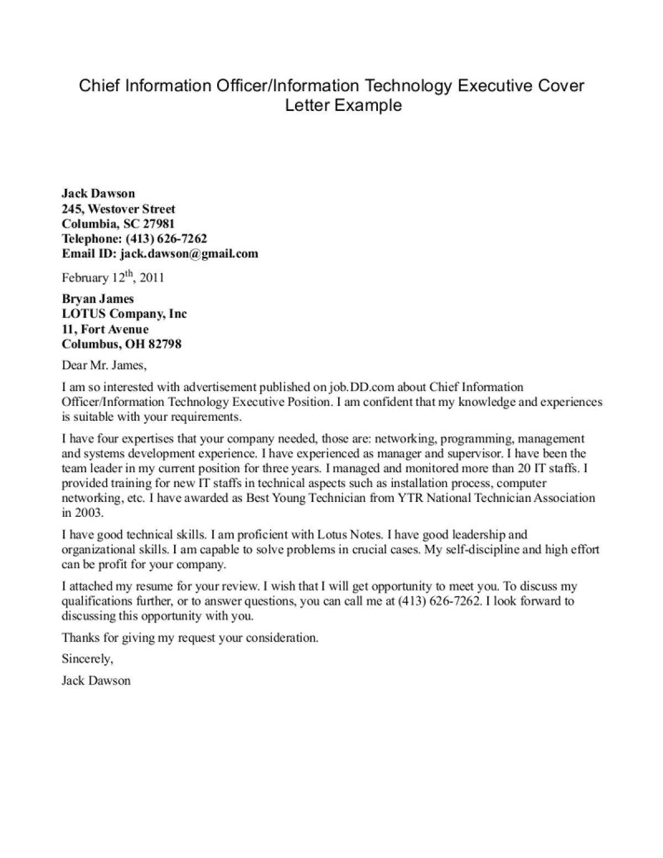 Cover Letter for Strategic Planning Position Information Technology Cover Letter Sample the Letter Sample