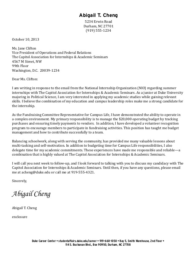 ug example cover letters