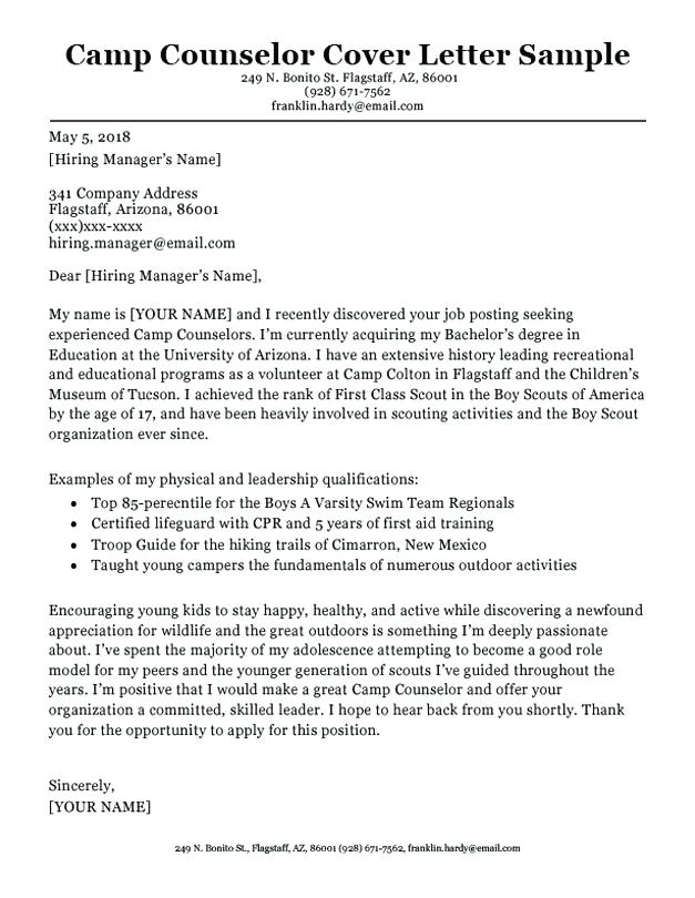 Cover Letter for Substance Abuse Counselor Cover Letter Counselor Cover Letter for Catering Substance