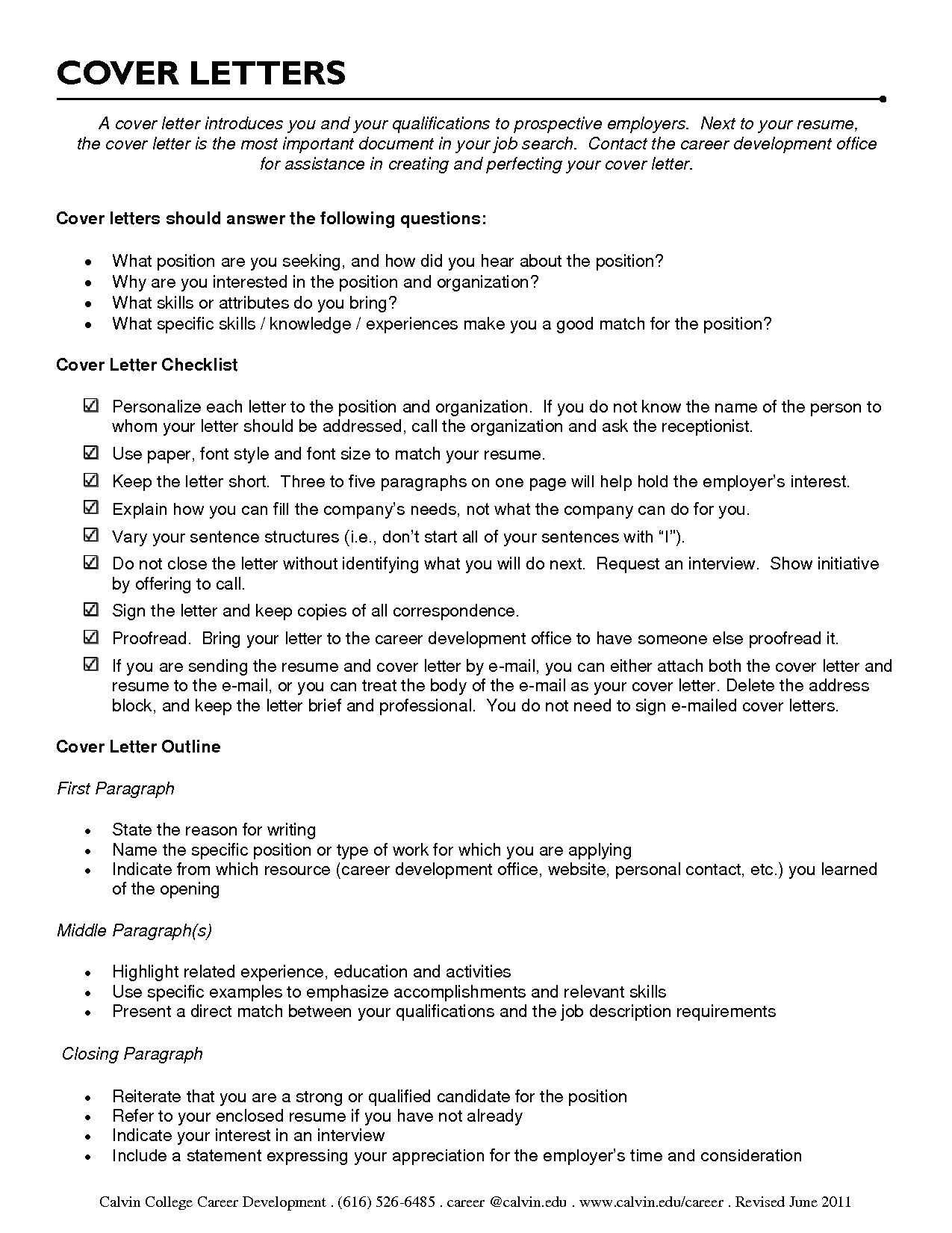 cover letter sample camp counselor