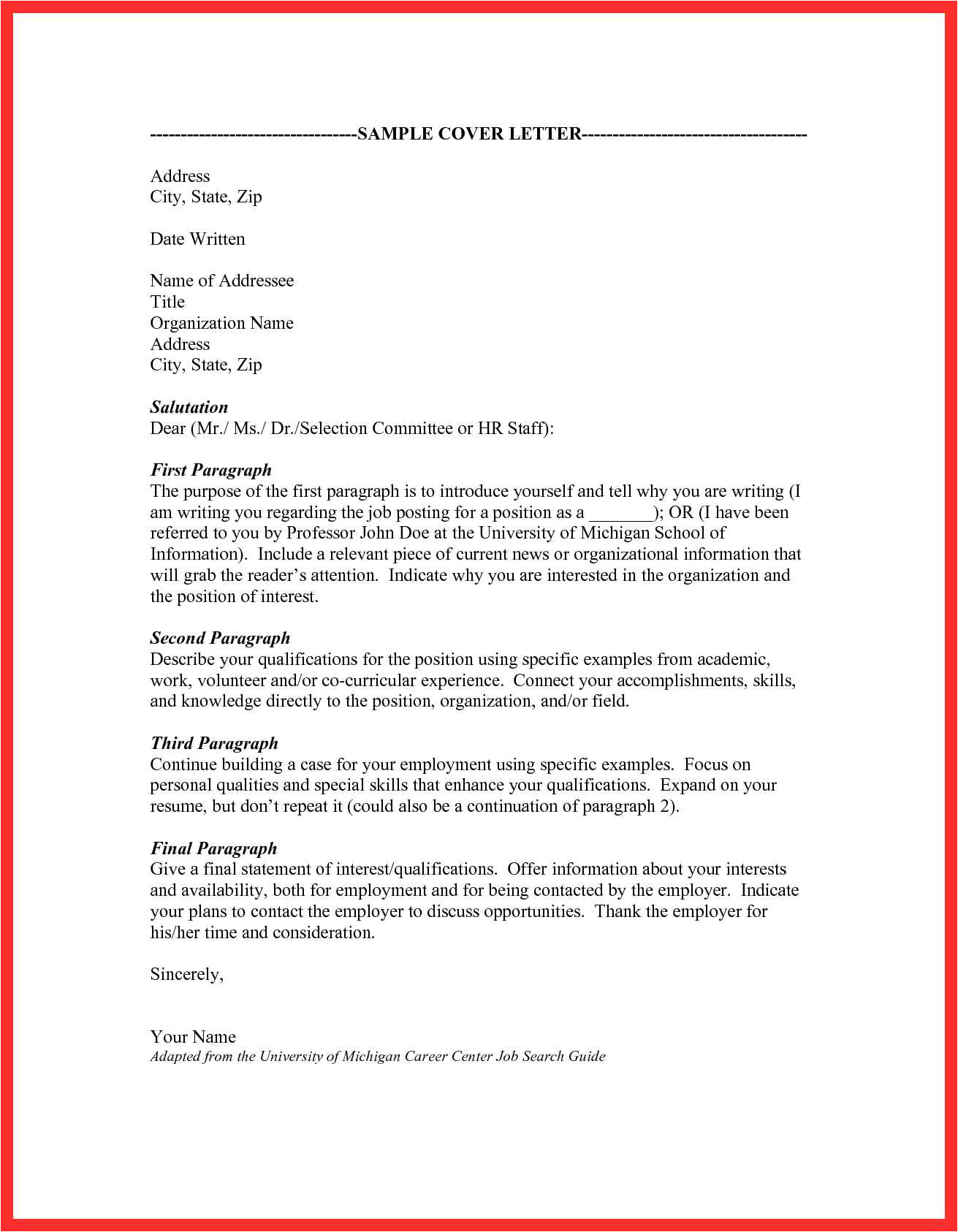 Cover Letter for Ta Cover Letter for Ta Good Resume format