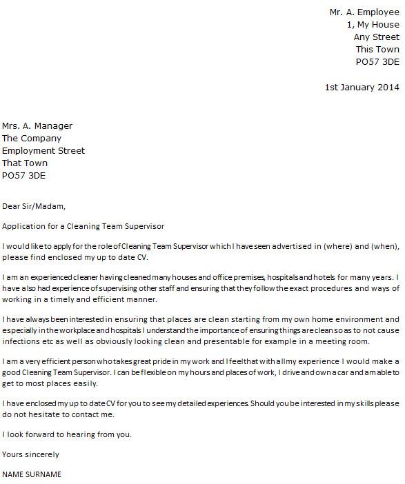 Cover Letter for Team Leader Position Examples Cleaning Team Leader Cover Letter Example Icover org Uk