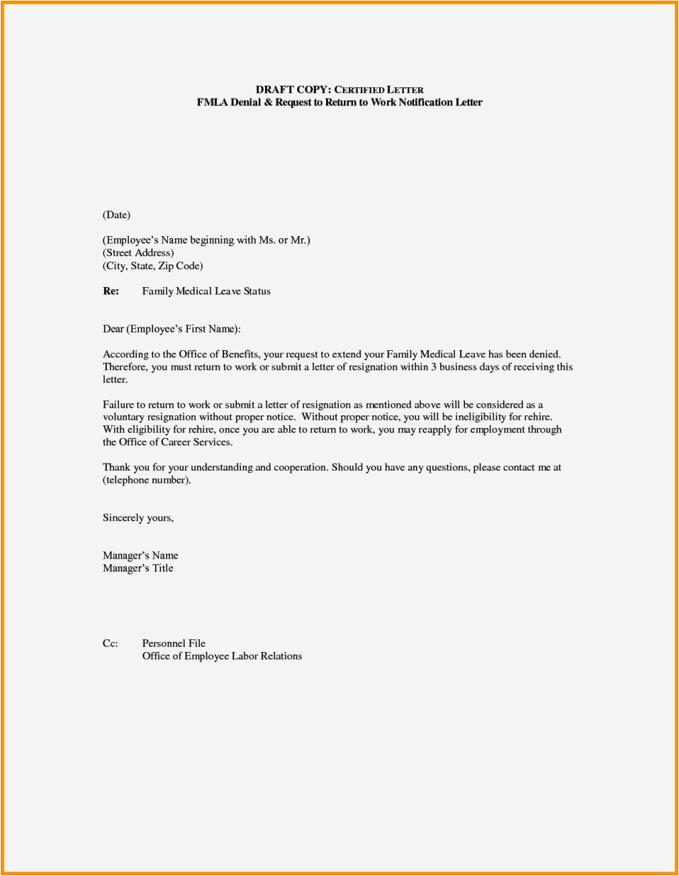 cover letter returning to work after children
