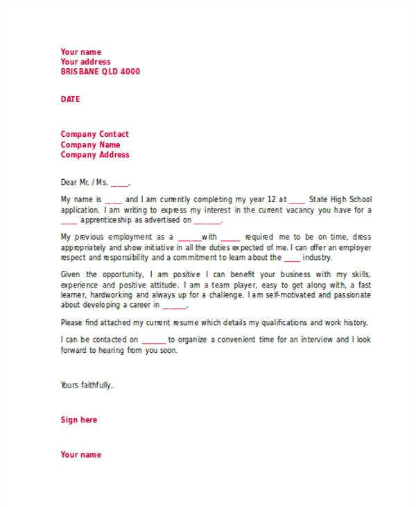cover letter no address of employer