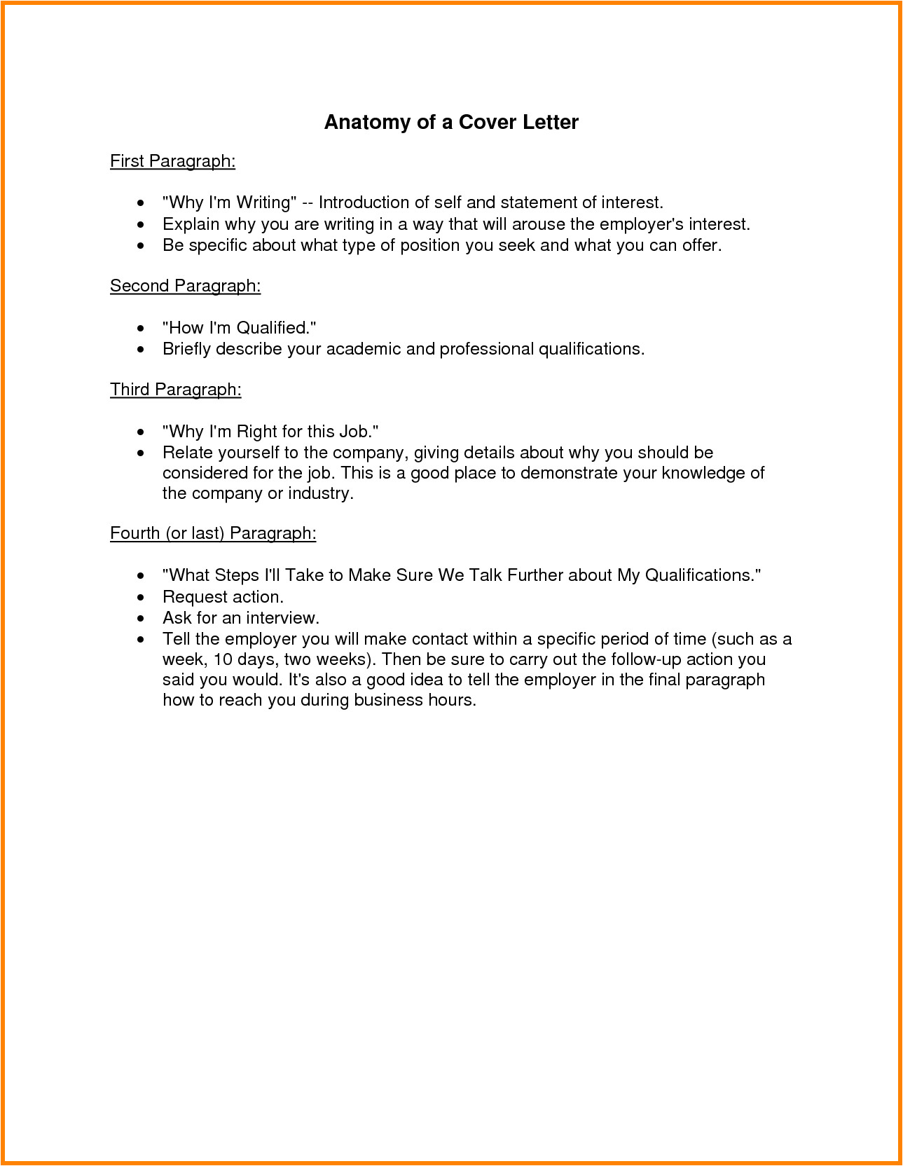 12 cover letter statement of interest examples