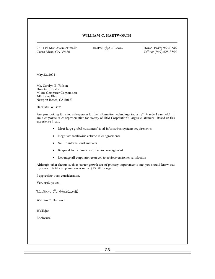 sample cover letter seeking employment opportunities