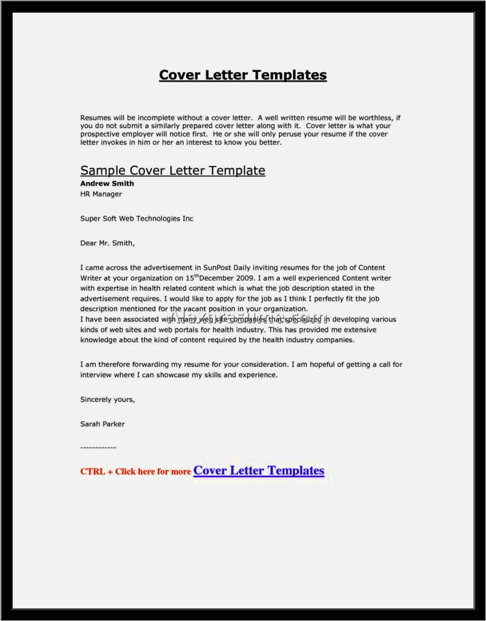 Cover Letter Should Be attached In the Email Email Cover Letter Sample with attached Resume Resume