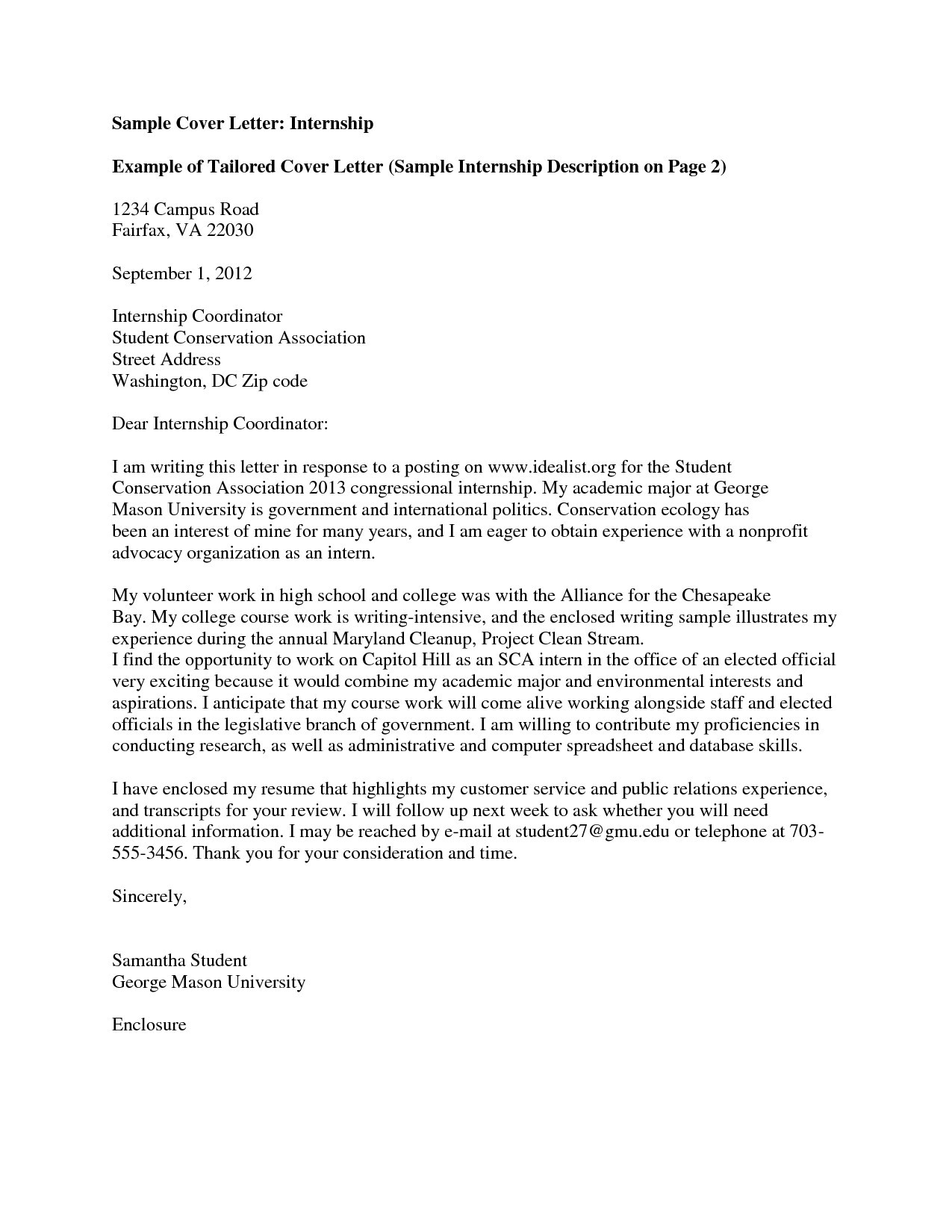 Cover Letter to Apply for University Cover Letter Examples Application University New Academic