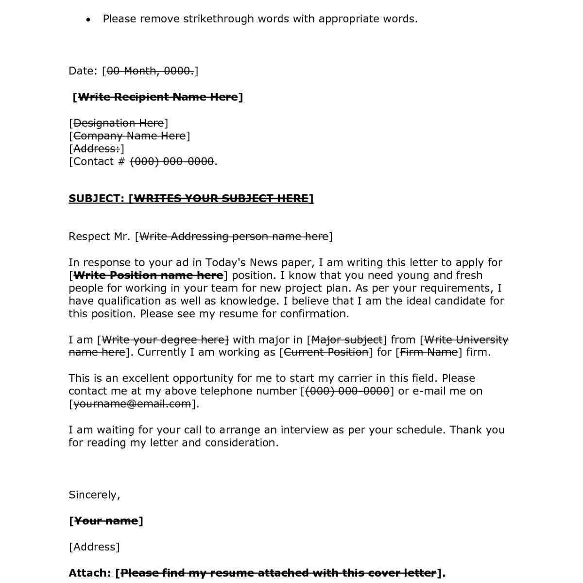 Cover Letter to Unknown Company Cover Letter Salutation Unknown Person 28 Images 7