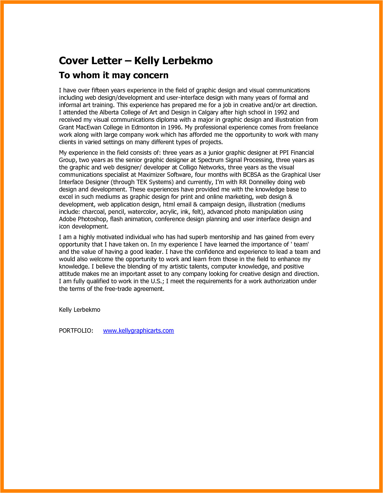 Cover Letter to whom It May Concern Alternative Cover Letter to whom It May Concern Gplusnick