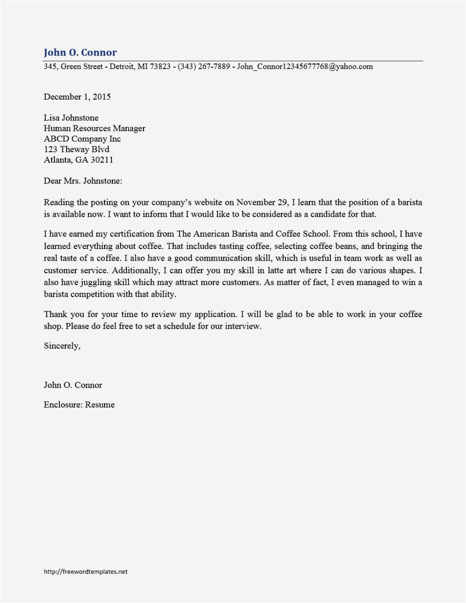 Cover Letter with No Name Of Recipient Cover Letter No Template Resume Template Cover Letter