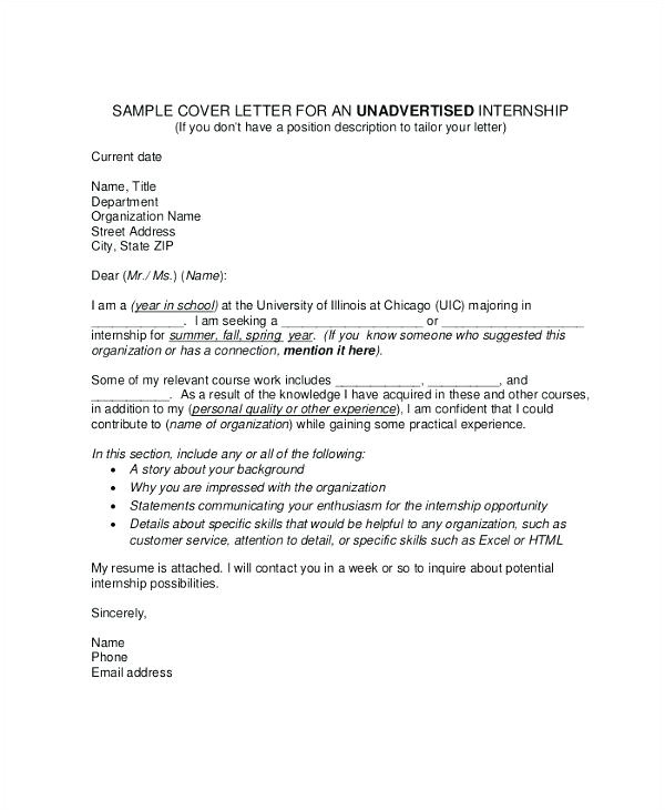 Cover Letter without Specific Position Cover Letter No Specific Job Specific Cover Letter How to