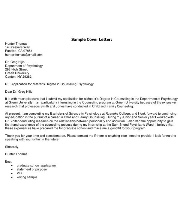 email cover letter template and examples
