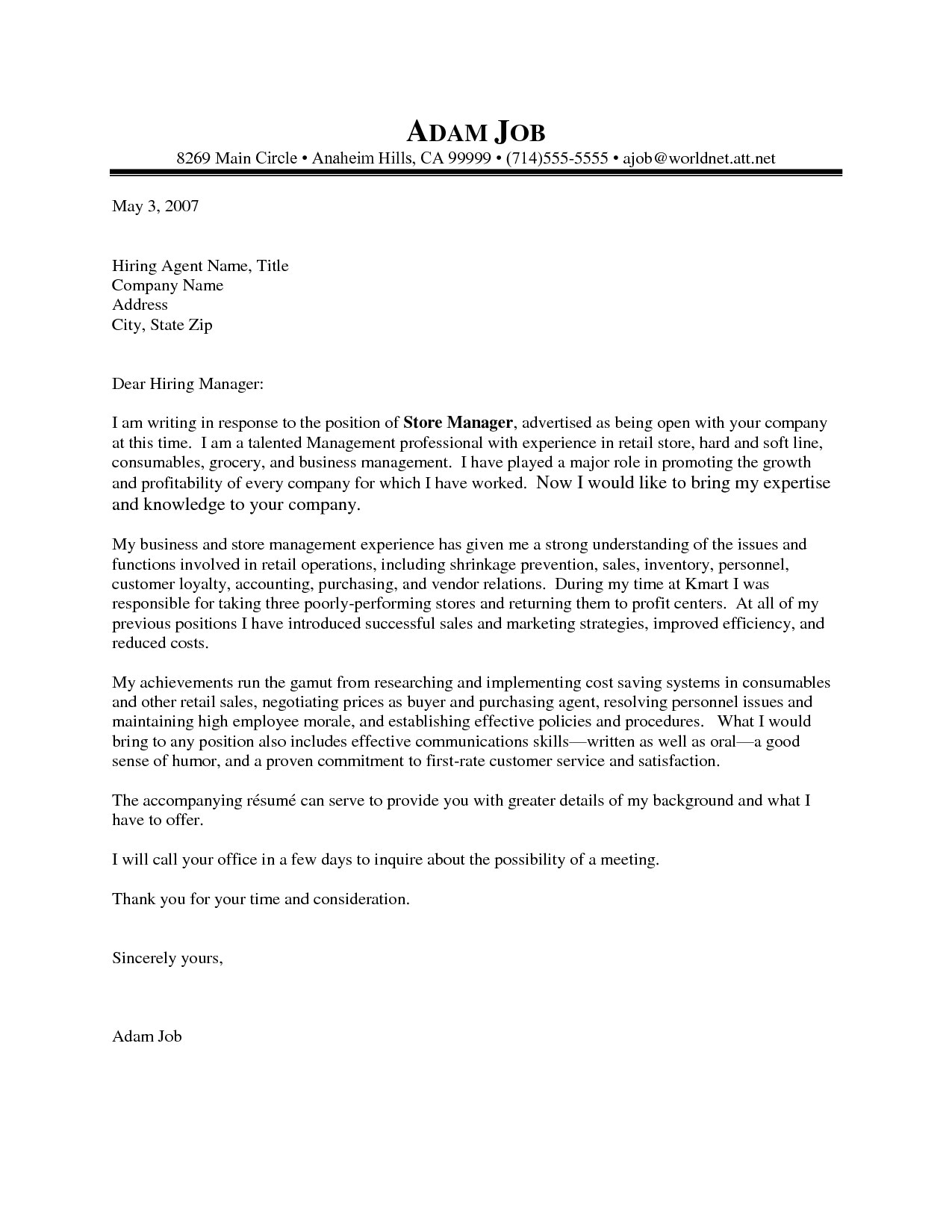retail management cover letters cool ideas retail manager cover letter 11 sample for cv resume ideas