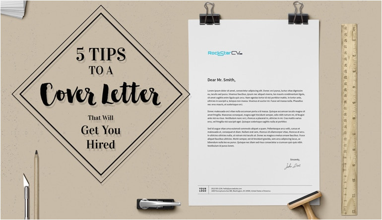 5 tips cover letter get you hired