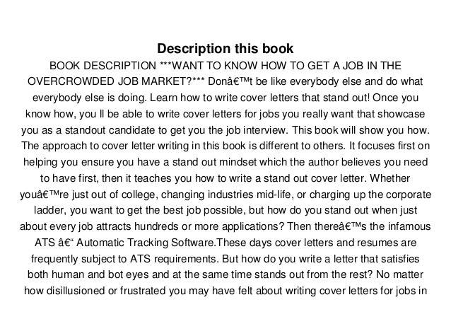 download pdf stand out cover letters how to write winning cover letters that get you hired full 87633067