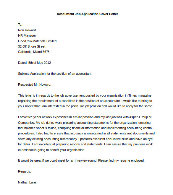 Covering Letter for Job Application In Word format 54 Free Cover Letter Templates Pdf Doc Free