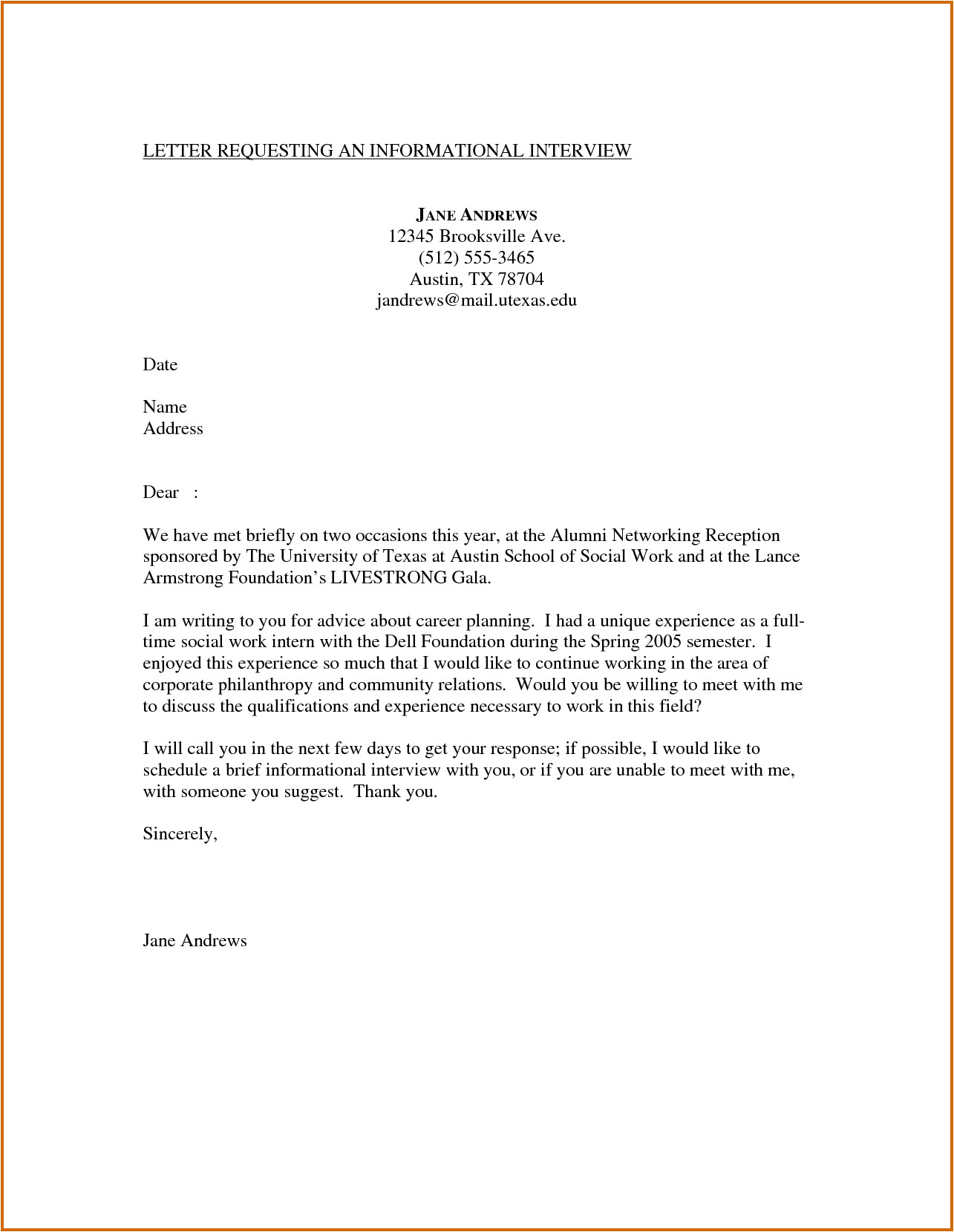 8 interview cover letter