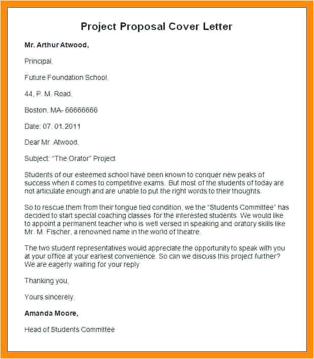Covering Letter for Project Report Ideas Of Cover Letter for Proposal Template Grant In