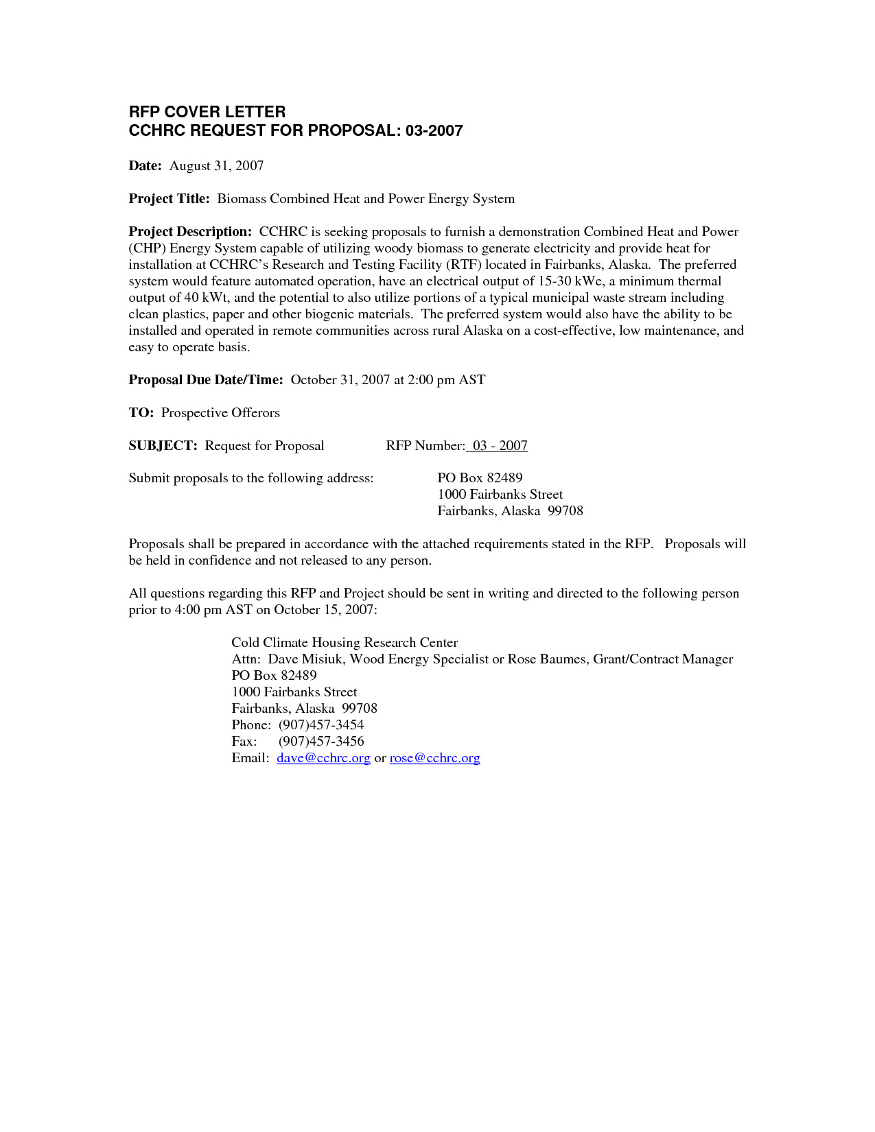 post request for proposal letter example 501616