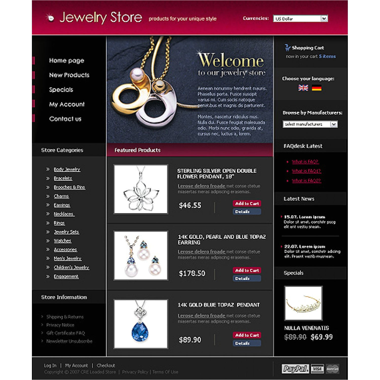 jewelry store 14872 cre loaded template