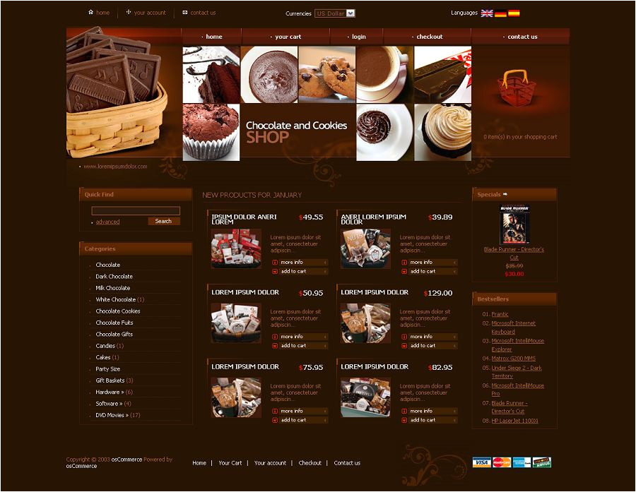 Cre Loaded Templates Os03c00230 Cre Loaded Template for Chocolate Stores