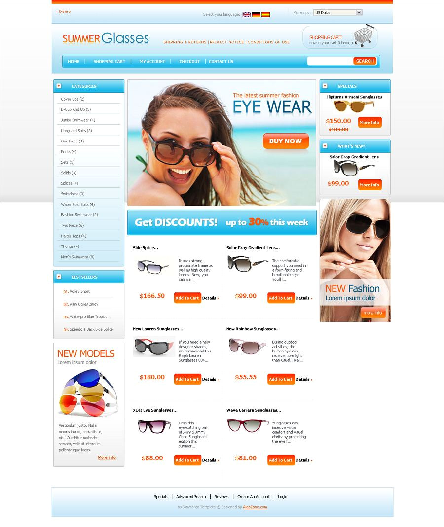 Cre Loaded Templates Os04a00424 Cre Loaded Template for Fashion Store