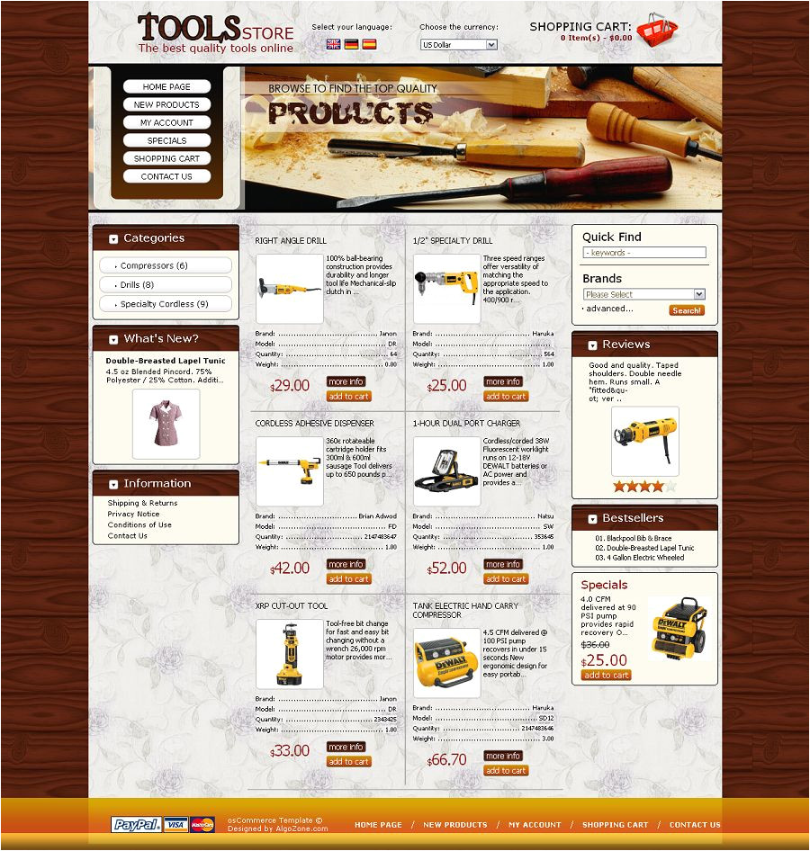 Cre Loaded Templates Os04a00439 Cre Loaded Template for Hardware tools Store