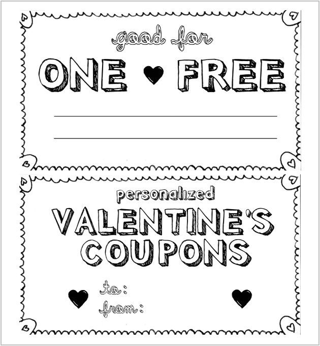 Create A Coupon Template Free Homemade Coupon Design World Of Example