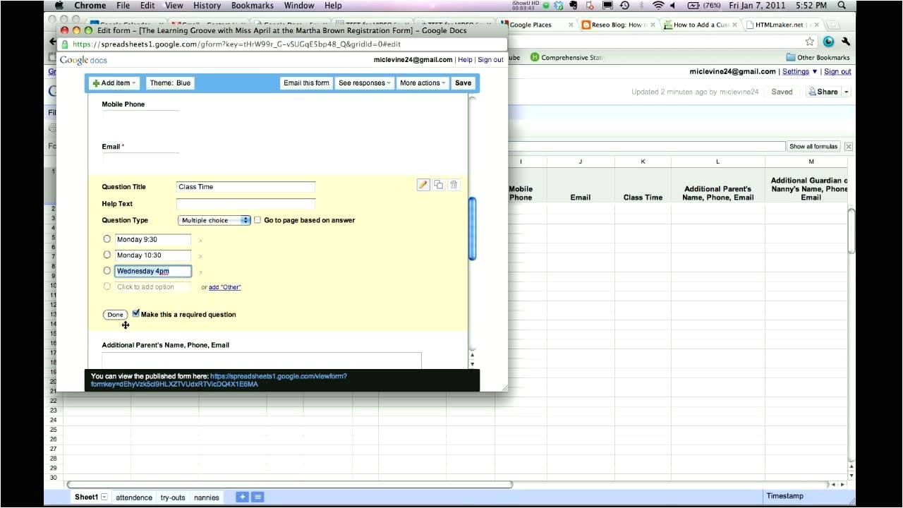 google docs registration form template