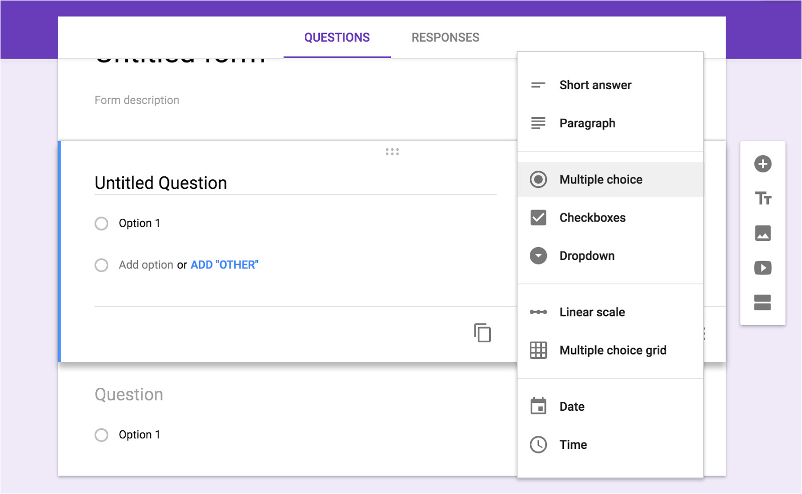 how to create google form free and