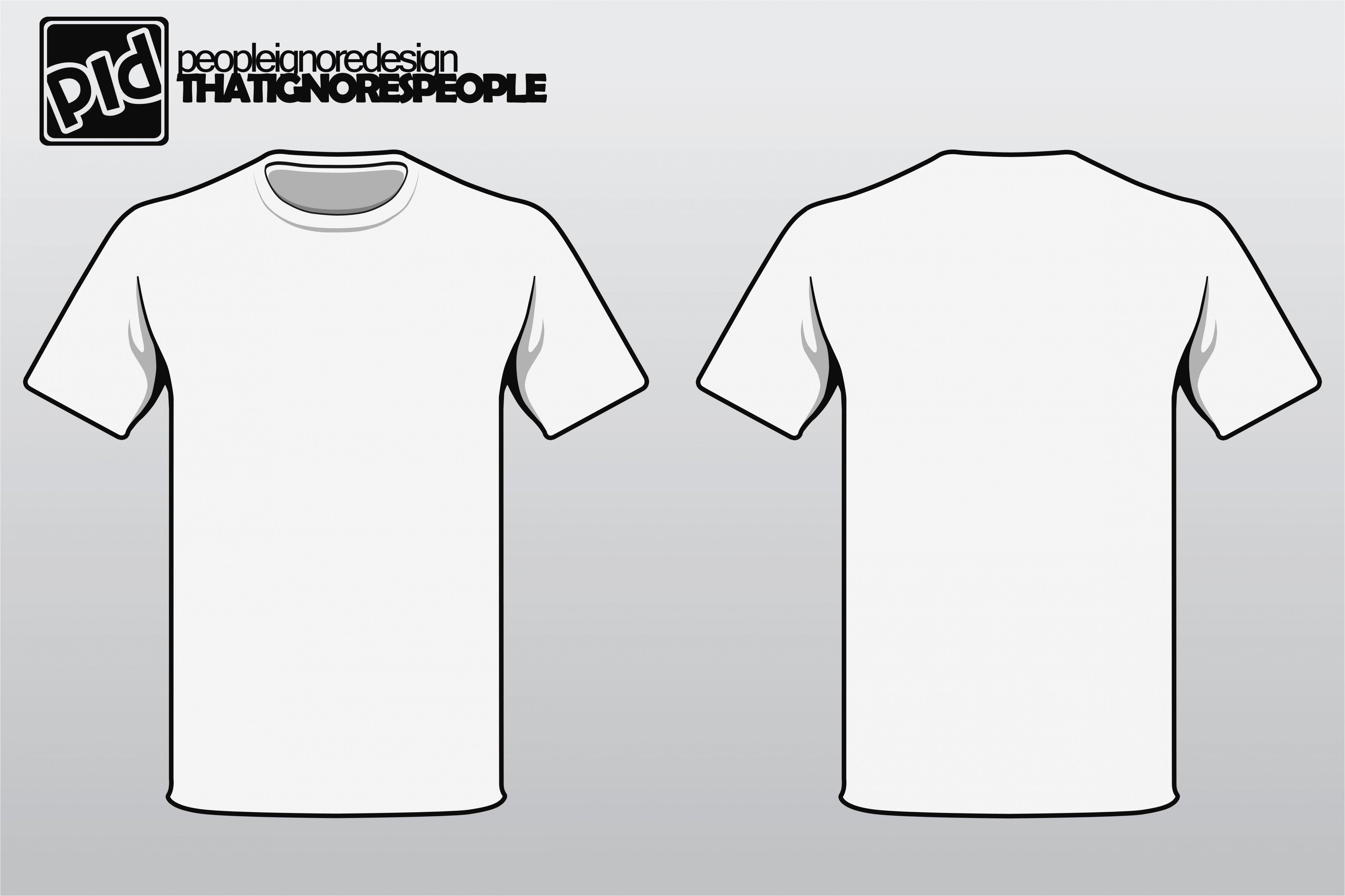Create A T Shirt Template T Shirt Template Vector