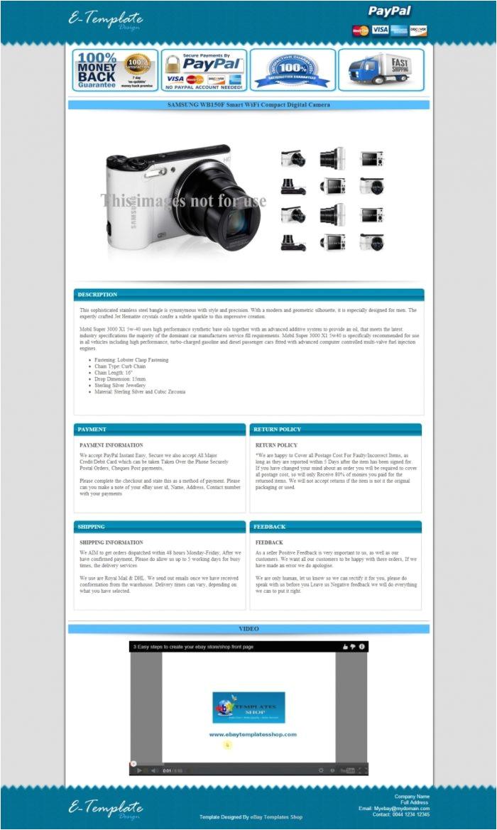 custom ebay invoice template