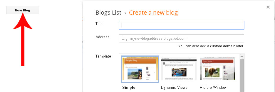build your own blogger template from scratch