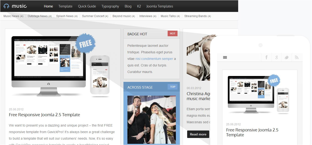 download how to create own template in joomla