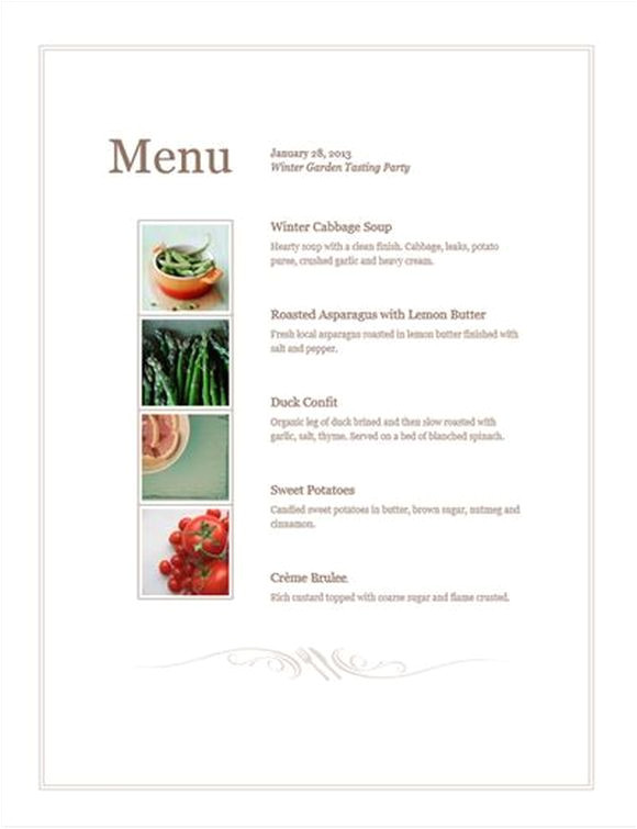 Create Your Own Menu Template Design Your Own Free Menu Template Pos Sector