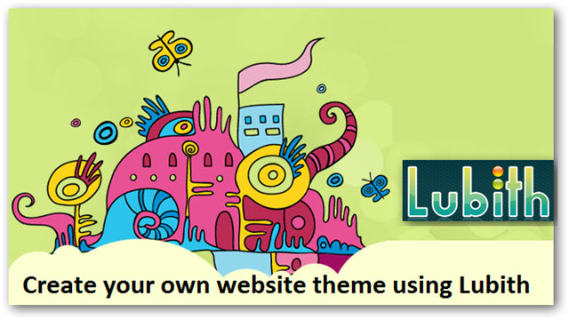 lubith create own theme without coding skills